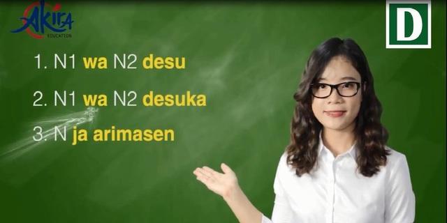 Học tiếng Nhật: Tổng hợp kiến thức ngữ pháp bài 1 giáo trình Minna no Nihongo - 1