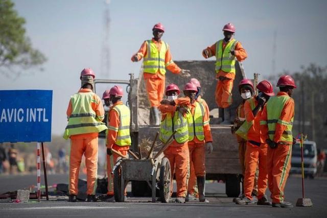 Nhà đầu tư Trung Quốc đẩy mạnh xây dựng cơ sở hạ tầng tại các nước châu Phi. (Nguồn: Siobhan Heanue)