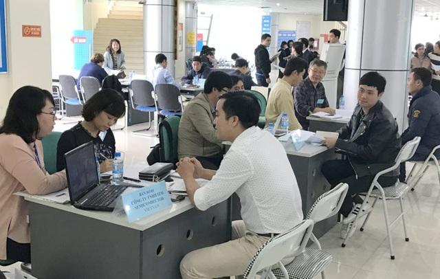Phiên giao dịch việc làm do Trung tâm lao động ngoài nước tổ chức