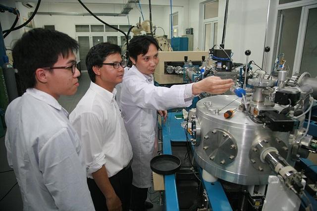 Phòng thí nghiệm Vật lý của ĐH Quốc gia Hà Nội