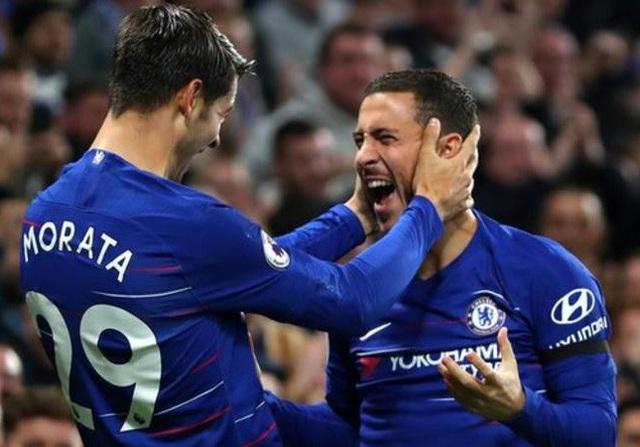 Morata và Hazard đang thể hiện phong độ xuất sắc trong màu áo Chelsea