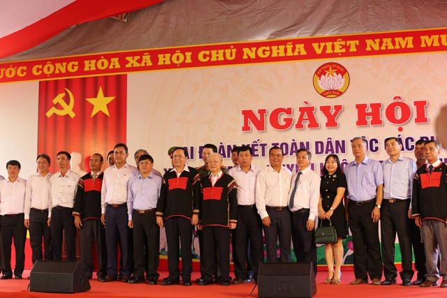 Tổng Bí thư, Chủ tịch nước Nguyễn Phú Trọng tại Ngày hội Đoàn kết toàn dân tộc Đắk Lắk