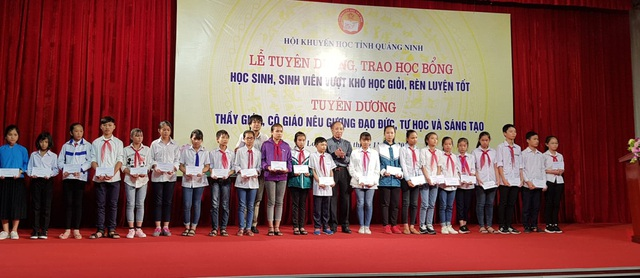82 học sinh vượt khó học giỏi, rèn luyện tốt đến từ nhiều địa phương trên địa bàn tỉnh