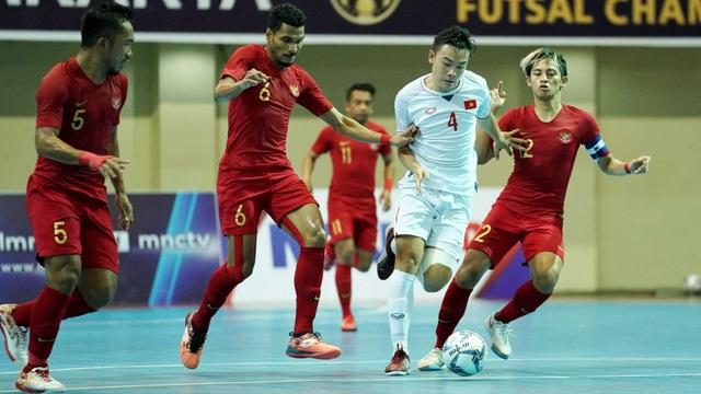 Đội tuyển futsal Việt Nam không thể vượt qua Indonesia trong trận tranh HCĐ