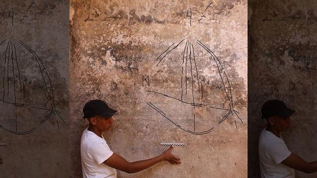 Khu vực phát hiện ra bức tranh Graffiti có tuổi đời 2.000 năm tại Israel.
