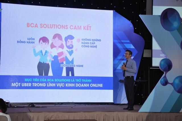 Ngày 11/11/2018, BCA công bố thành lập Công ty cổ phần BCA Solutions và ra mắt ứng dụng BCASolutions. Đây là ứng dụng công nghệ mang đến những giải pháp hoàn hảo cho quản lý doanh nghiệp nhờ áp dụng mô hình kinh tế chia sẻ và công nghệ 4.0.