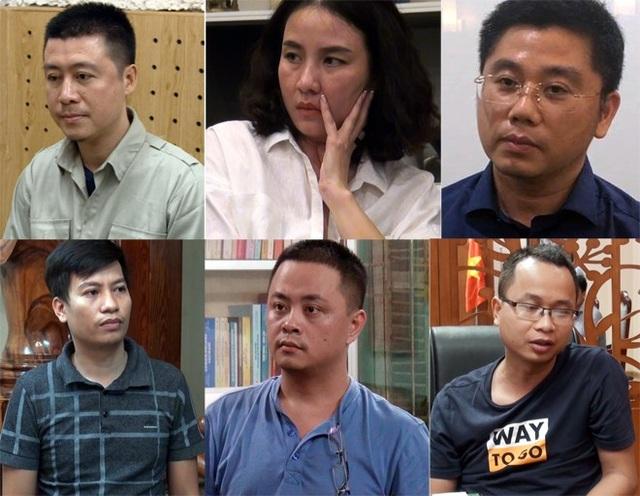 Phan Sào Nam, Lưu Thị Hồng, Nguyễn Văn Dương, Phạm Tuấn Anh, Nguyễn Quốc Tuấn, Kim Thanh Thủy.