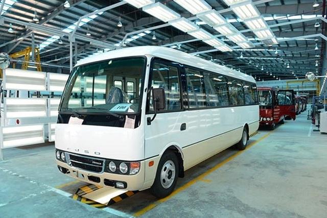 """Kế hoạch sản xuất xe khách Fuso Rosa của Samco """"phá sản"""" trong 2,5 năm với khoản lỗ ít nhất là gần 55 tỷ đồng nhưng trách nhiệm chưa rõ sẽ thuộc về ai."""
