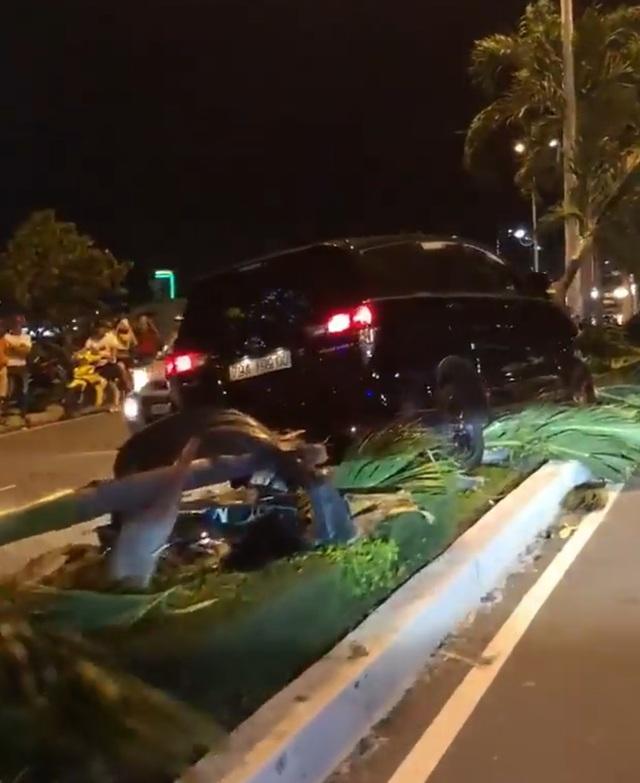 Hiện trường vụ tai nạn trên cầu Trần Phú, Nha Trang