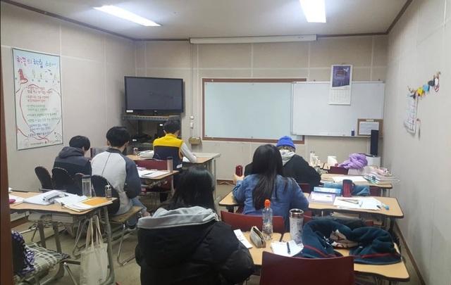 Học sinh theo học trường Haankkum (Ảnh: SCMP)