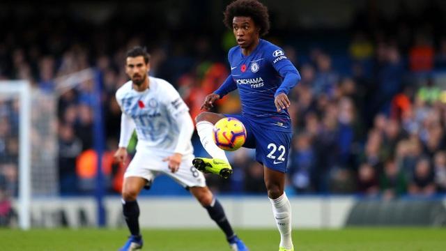 Tiền vệ Willian của Chelsea