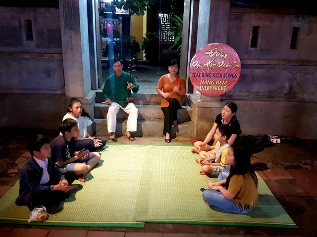 """Sinh hoạt văn hóa trong khu vực """"Không gian văn hóa Việt Nam - Nhật Bản"""" tại Hội An"""