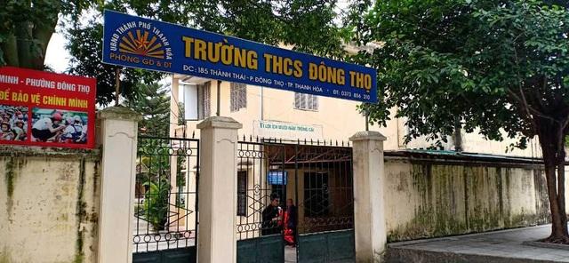 Trường THCS Đông Thọ- nơi phụ huynh kêu trời vì lạm thu.