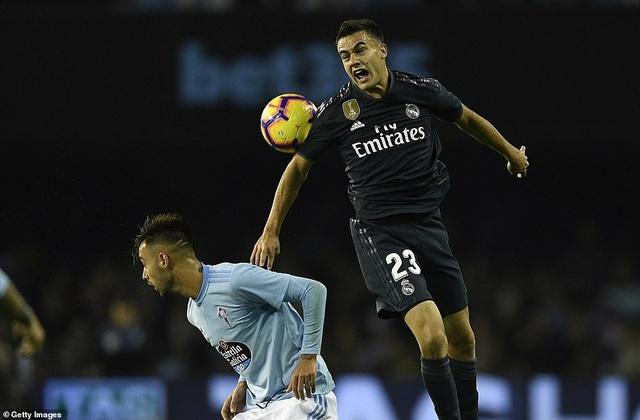 Real Madrid làm chủ thế trận trong cả trận đấu