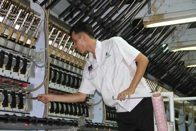 PVTEX mới đưa thêm dây chuyền sản xuất mới vào hoạt động