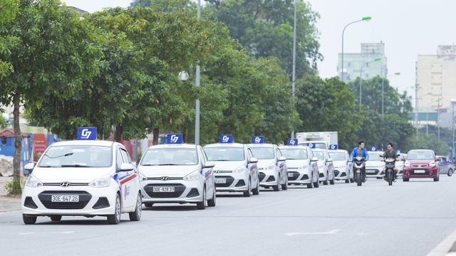 Ngày 12/11, chính thức ra mắt thương hiệu G7 taxi tại Hà Nội.