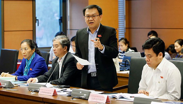 Đại biểu Lâm Đình Thắng.