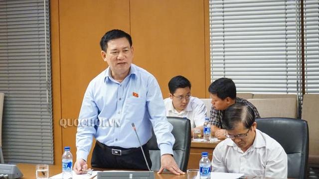 Đại biểu Quốc hội Hồ Đức Phớc - Tổng Kiểm toán Nhà nước (Ảnh: Quochoi.vn).