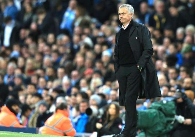 HLV Mourinho không trách các cầu thủ MU sau thất bại trước Man City