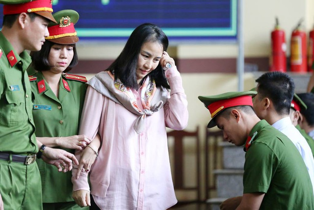 Bị cáo Lưu Thị Hồng