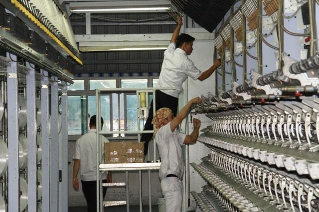 Nhà máy Xơ sợi Đình Vũ dự kiến nâng gấp đôi công suất sản xuất sợi DTY