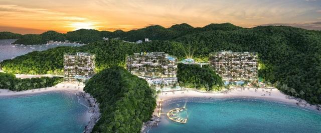 Phối cảnh Flamingo Cát Bà Beach Resort tại đảo Cát Bà trong tương lai