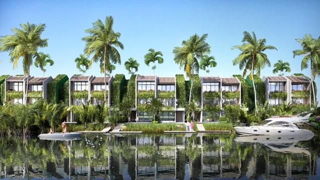 Thiết kế của biệt thự Casamia là sự giao thoa hài hòa giữa chất hiện đại và truyền thống