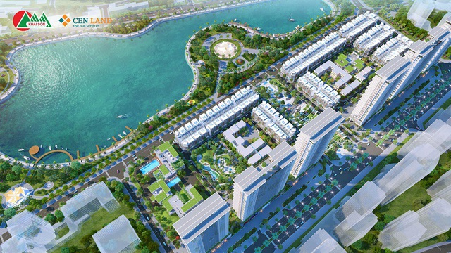 Phối cảnh dự án Khai Sơn Town.