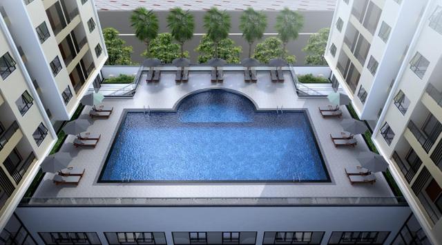 Thăng Long Capital được trang bị những tiện ích khép kín và tiện nghi hơn bao gồm: 3 tầng hầm để xe, Bể bơi nhiệt đới, 5 tầng trung tâm thương mại, gym - spa và các khu vui chơi, trường mầm non,....