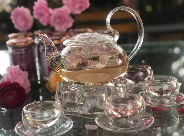 Loại trà nguyên bông này có mùi vị rất thơm
