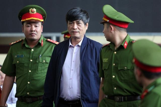 Bị cáo Nguyễn Thanh Hóa tại tòa.