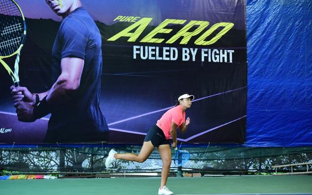 Nhiều tay vợt trẻ tham dự giải đấu vừa kết thúc tại TPHCM