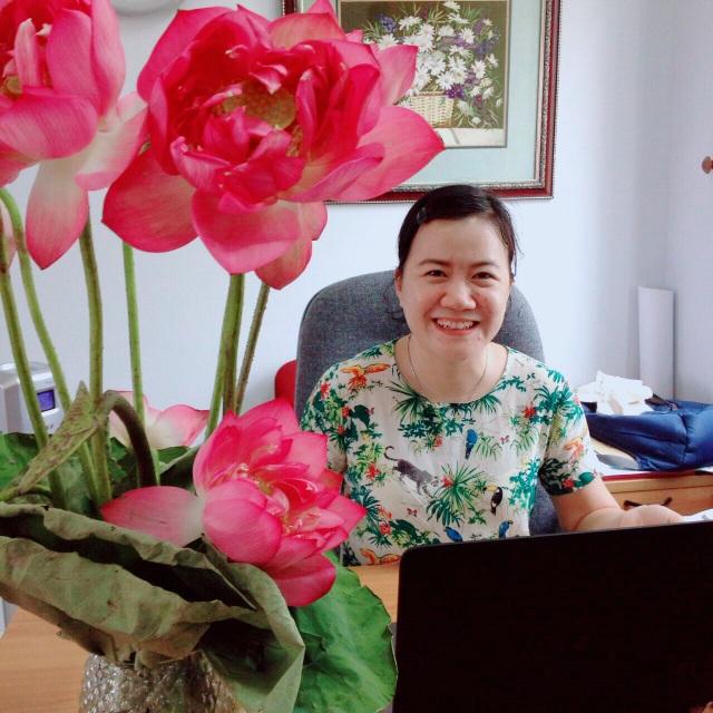Thạc sĩ Đinh Thị Thu Trang - Giám đốc chuyên môn của hệ thống giáo dục E-Life Group