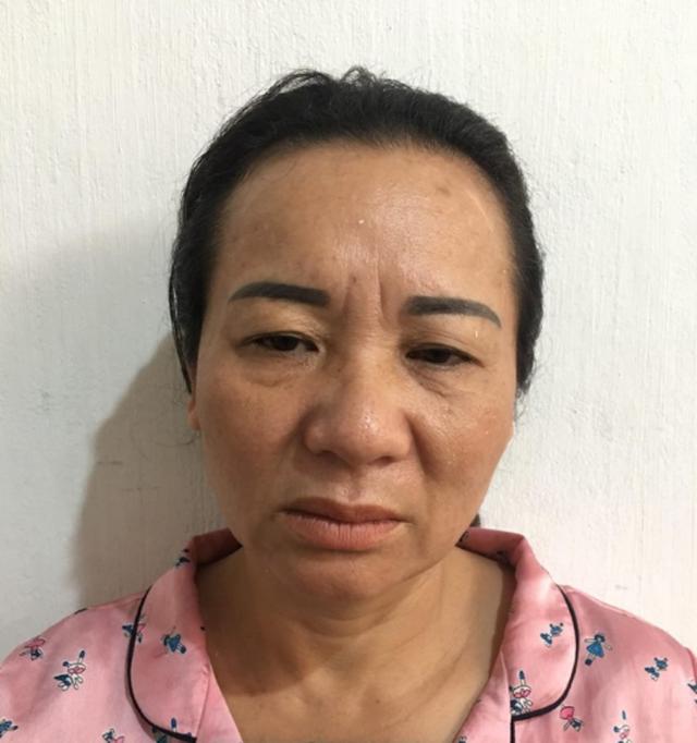 Nguyễn Thị Nga tại cơ quan điều tra