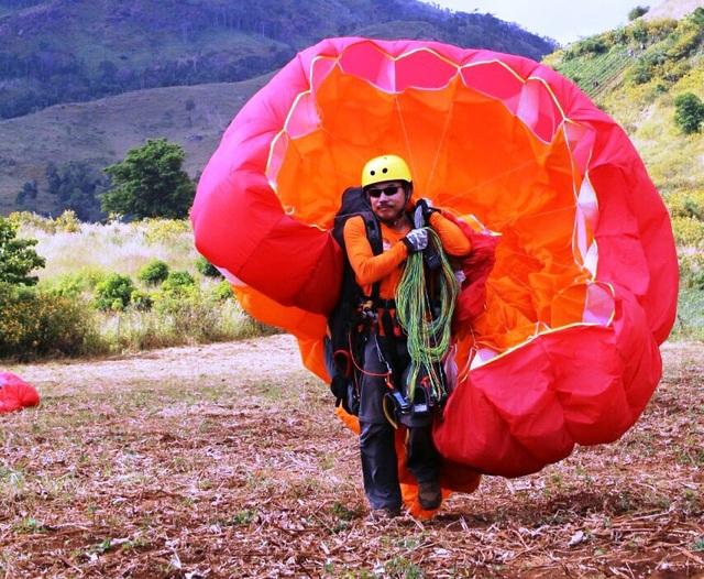 Các phi công đều nhận định vị trí núi lửa Chư Đăng Ya là điểm bay khá thuận lợi kể cả về địa hình và thời tiết