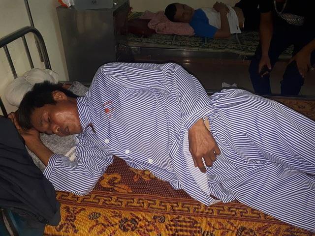 Ông Toàn đang được điều trị tại Bệnh viện Đa khoa Hà Tĩnh.