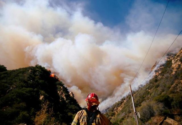 Điều kiện thời tiết và biến đổi khí hậu được cho là 2 nguyên nhân chính khiến vụ cháy rừng có mức độ tàn phá thảm khốc. Gió nóng, nhiệt độ cao và đặc biệt hạt Butte có lượng mưa thấp kỷ lục trong 210 ngày qua khiến cho lửa bùng phát dữ dội.