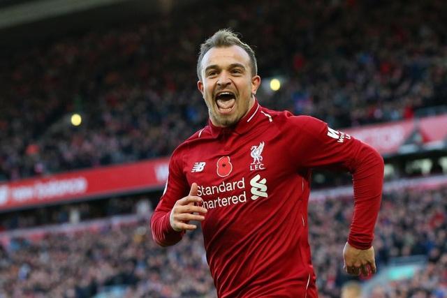 Xherdan Shaqiri tỏa sáng giúp Liverpool vượt qua Fulham