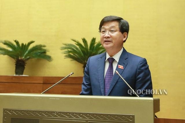 Tổng Thanh tra Chính phủ Lê Minh Khái báo cáo Quốc hội công tác phòng chống tham nhũng năm 2018.