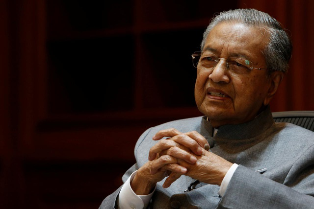 Thủ tướng Malaysia Mahathir Mohamad (Ảnh: Reuters)