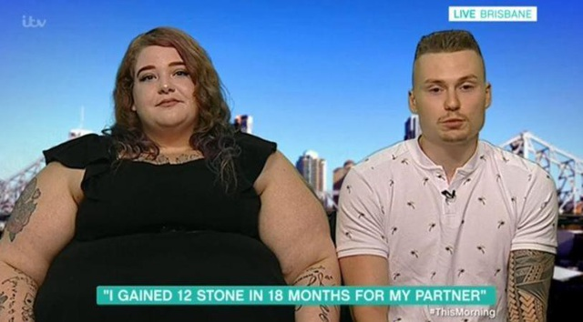 Cặp đôi xuất hiện trong chương trình This Morning của đài truyền hình Úc