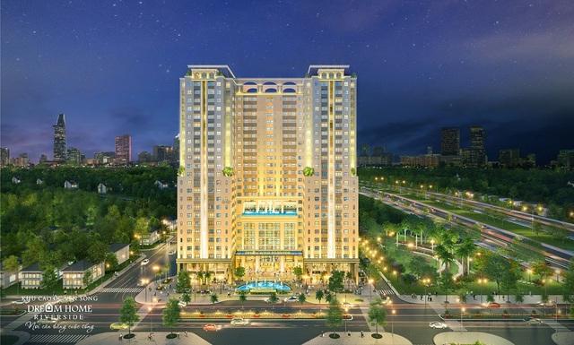 Tháp Diamond Center sở hữu các tiện ích sang trọng và riêng biệt dành cho cư dân của Dream Home Riverside