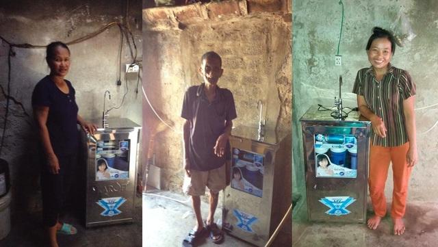 300 máy lọc nước Karofi trao tặng tới các làng ung thư năm 2015 đến nay vẫn được bảo trì, bảo dưỡng và thay lõi lọc định kỳ miễn phí để đảm bảo chất lượng