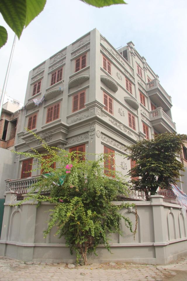 Ngôi biệt thự của gia đình cựu Thiếu tướng Nguyễn Thanh Hóa thời điểm hiện tại (Ảnh: Nguyễn Trường).