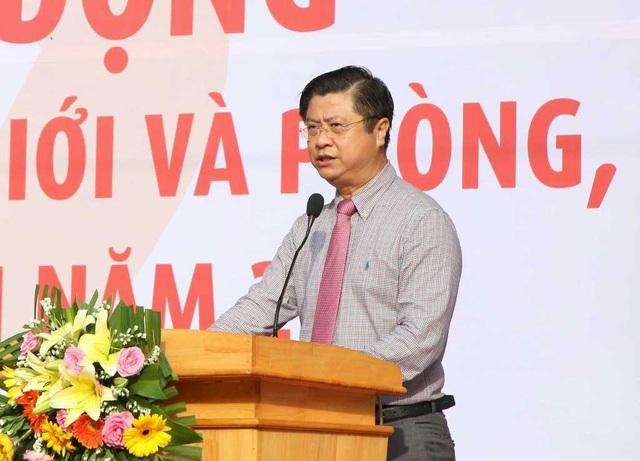 Ông Trương Quang Hoài Nam - Phó chủ tịch UBND TP Cần Thơ phát biểu tại buổi lễ