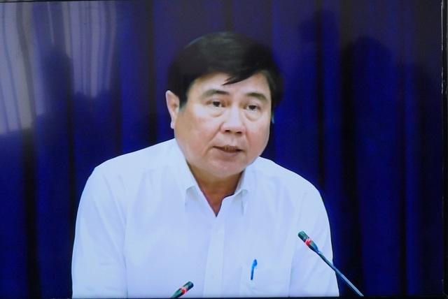 Chủ tịch UBND TPHCM Nguyễn Thành Phong cho biết thành phố sẽ giải quyết vấn đề Thủ Thiêm trên cơ sở đảm bảo lợi ích chính đáng của người dân