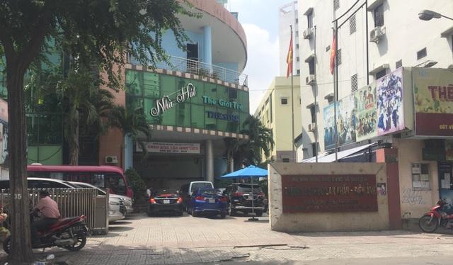 Trường ĐH Sân khấu Điện ảnh TPHCM, nơi ông Đặng Quốc V. đang là giảng viên cơ hữu