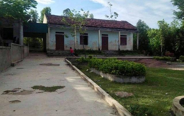 Điểm trường Hòa Lạc, Trường Tiểu học Quảng Châu, huyện Quảng Trạch, Quảng Bình.