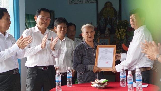 EVN SPC tiếp tục trao nhà từ thiện tại Bình Dương - 1