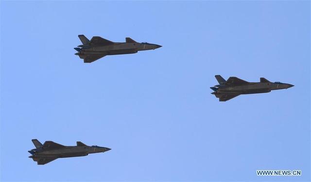 Máy bay chiến đấu J-20 của Trung Quốc (Ảnh: Chinadaily)